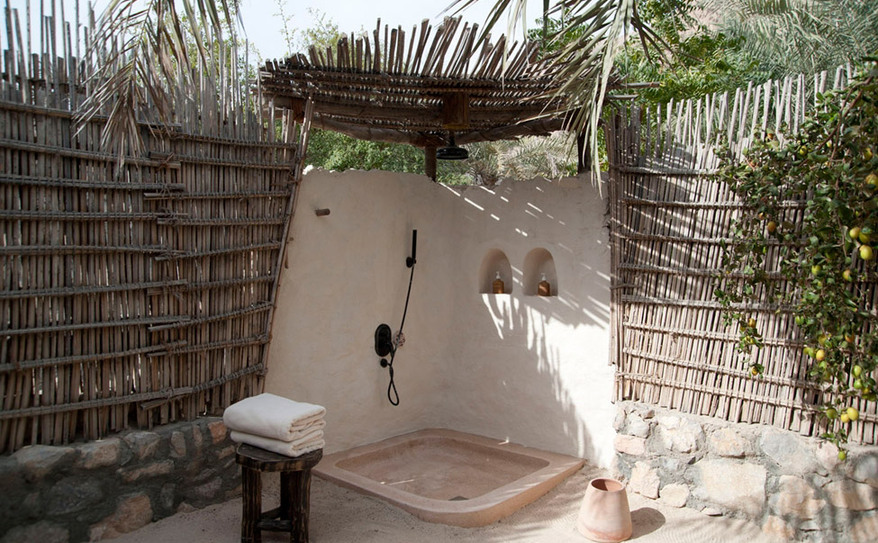 Pool Villa Suite Outdoor Shower