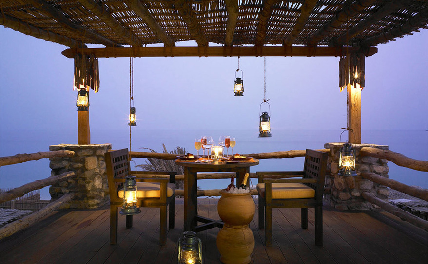 The Retreat In-Villa dining