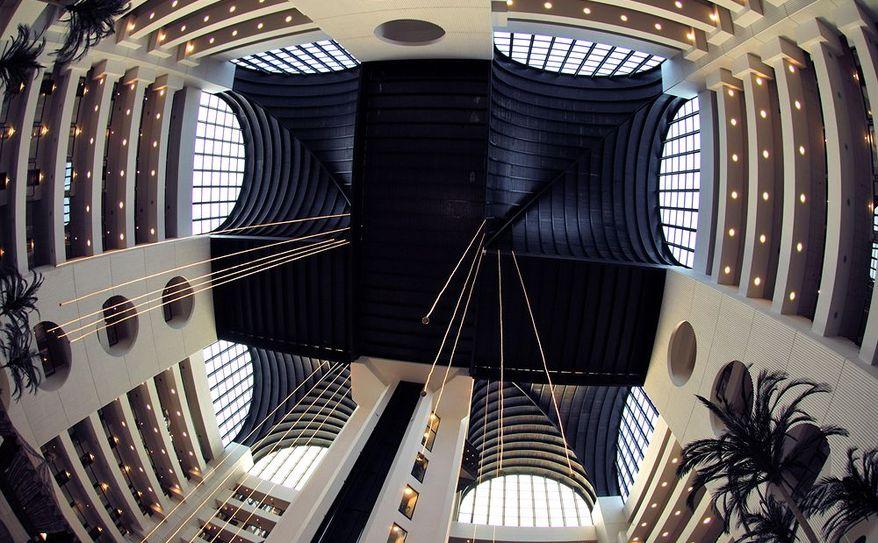 Atrium of Hotel Lobby