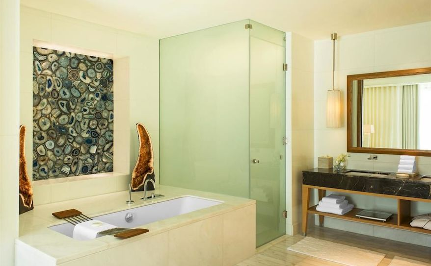 Expansive Bathroom of Spa suite