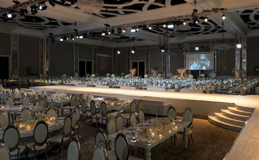 Ballroom Event Set up