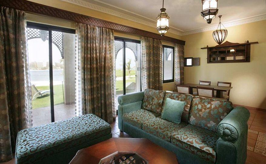 Premier Suite Beach Villa Living Room