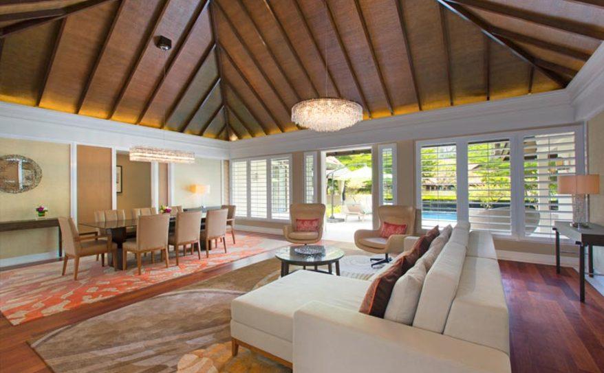 Two Bedroom Villa - Living Area