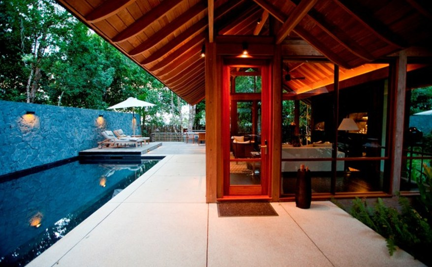 Beach Villa Outdoor Area