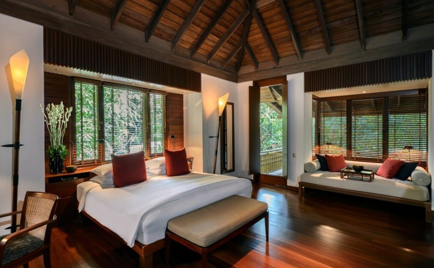 The Datai Langkawi Pool Suite Bedroom