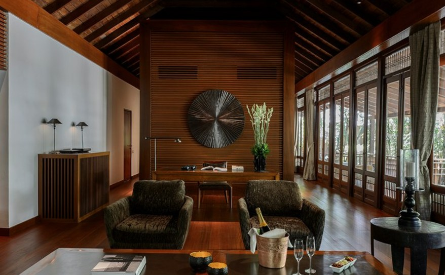 The Datai Langkawi Pool Suite Living Room