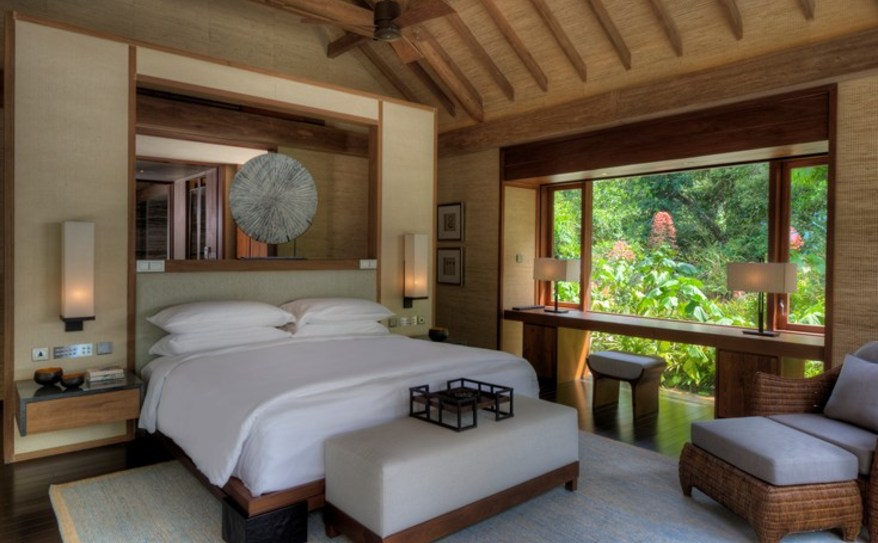 Two Bedroom Beach Villa Bedroom
