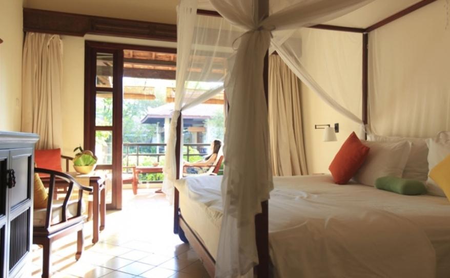 Garden View Room- Bedroom