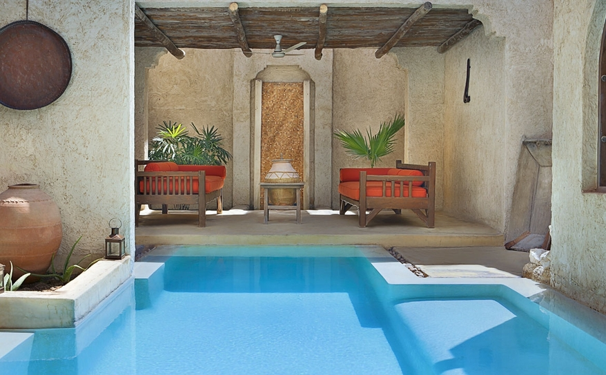 Private Pool At Six Senses Spa