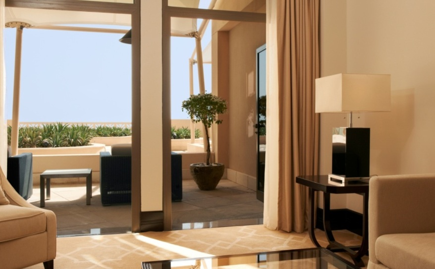 The St Regis Suite with Terrace Living Room