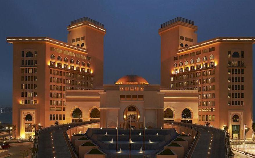Hotel Front - Evening/Night'