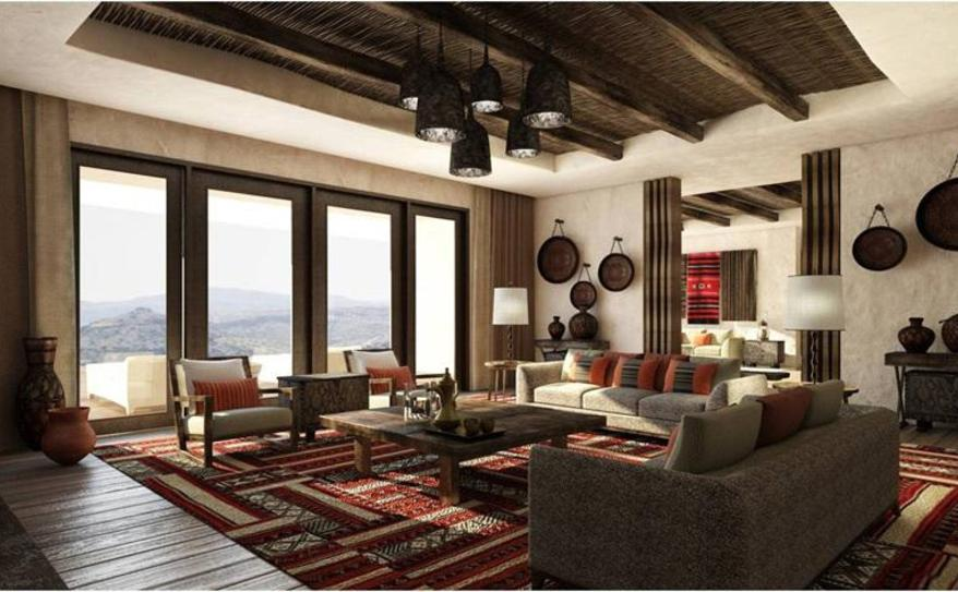 Mountain View Living Room
