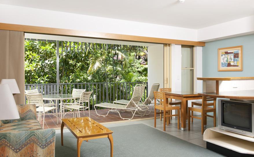 2 Bedroom Apartment Living Area – Mantra French Quarter