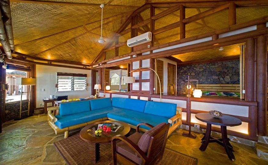 Beach Fales Living Area