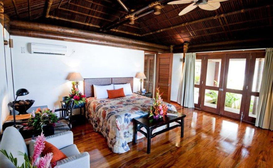 Executive Fale Suite Bedroom