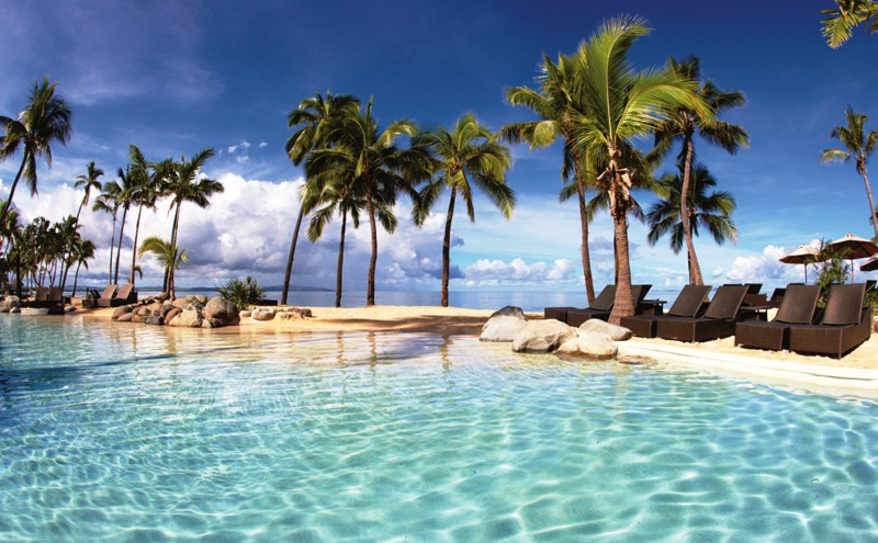 Family Pool at Sheraton Fiji Resort