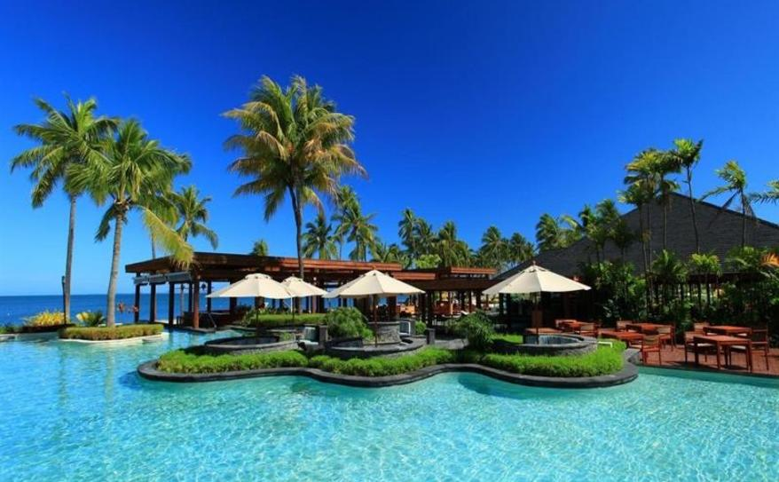 Main Lagoon Pool at Sheraton Fiji Resort