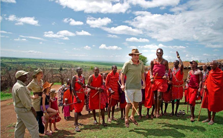 Cultural visits to the local Maasai village