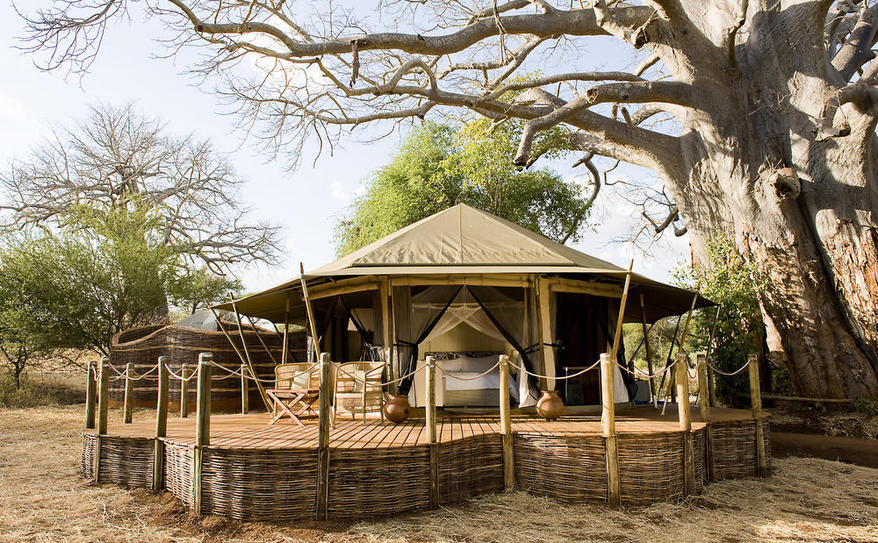 Luxury Tented Rooms