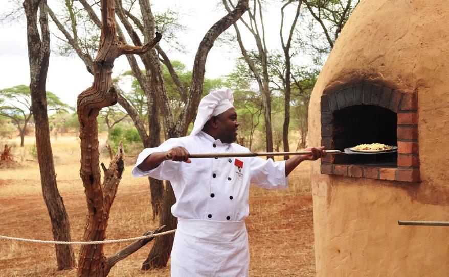 Swala Camp pizza