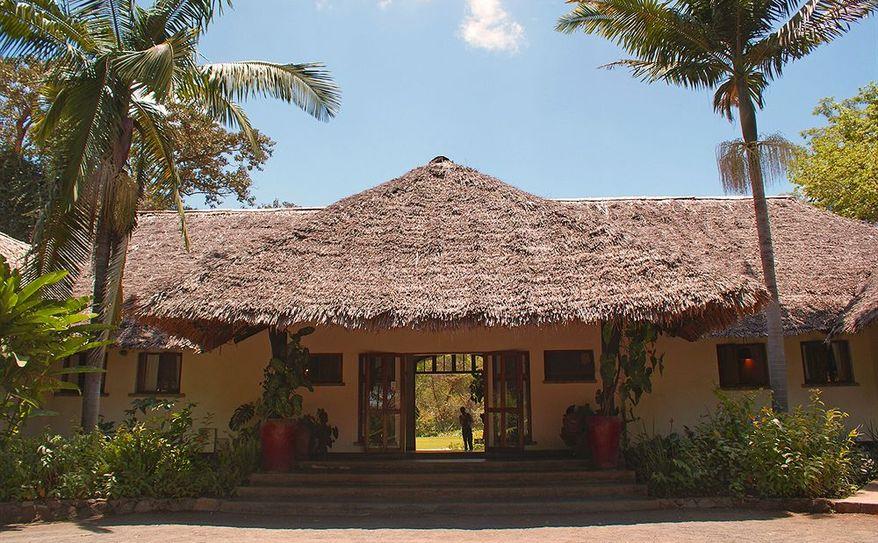 Moivaro Coffee Plantation Entrance