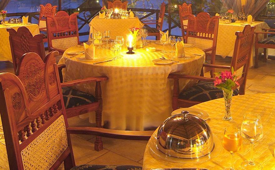 A La Carte Dining (not all inclusive)