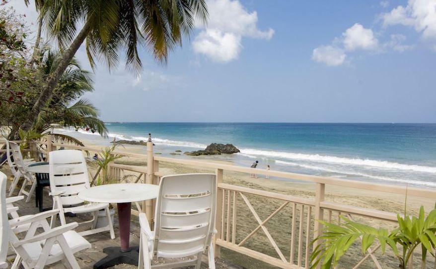Grafton Beach Resort Beach View