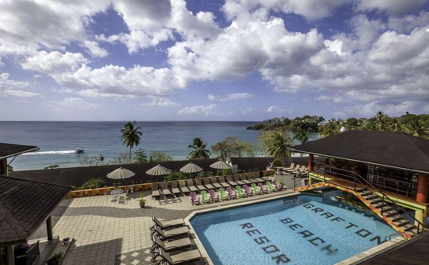 Grafton Beach Resort Pool View
