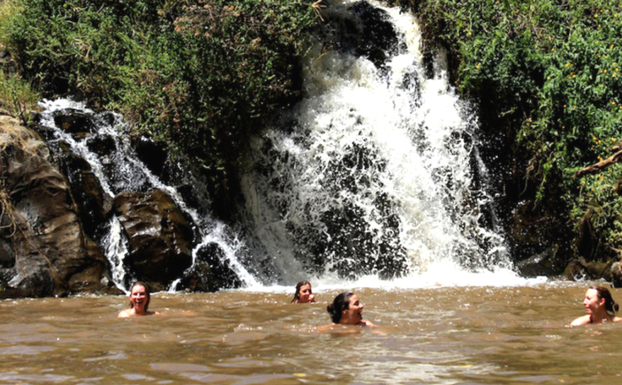 Ngare Ndare Forest and Waterfalls