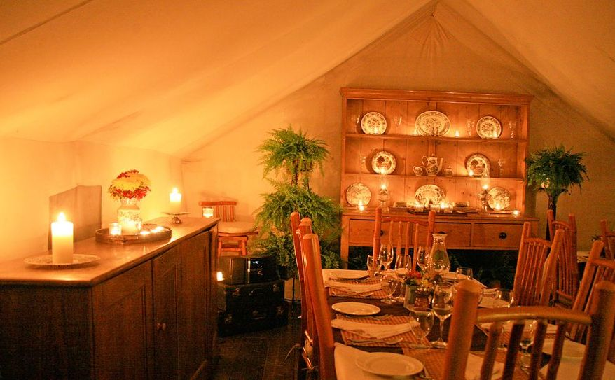Dining at Clayoquot