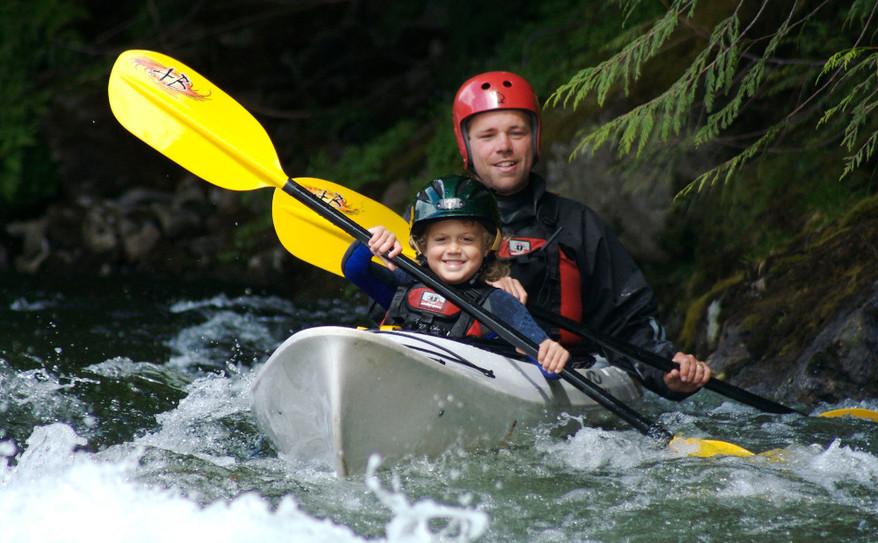 introduction to kayaking!