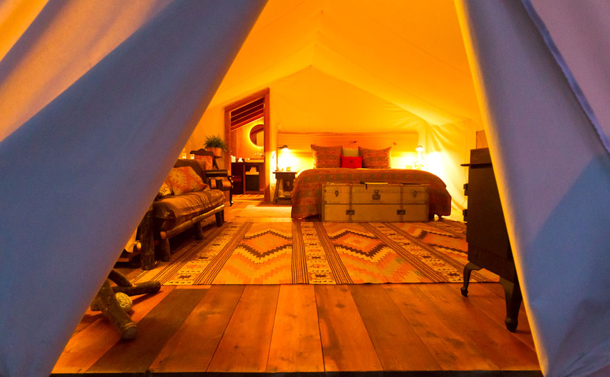 Luxury Ensuite Bathroom Tents