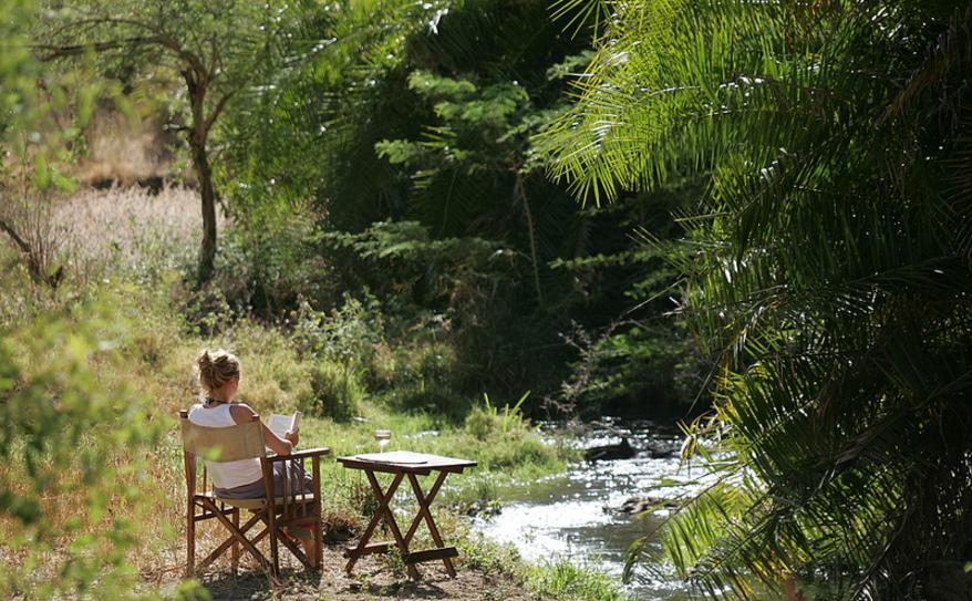 River Meru View