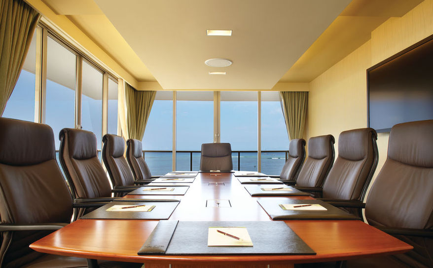 Oceanfront Executive Boardrooms